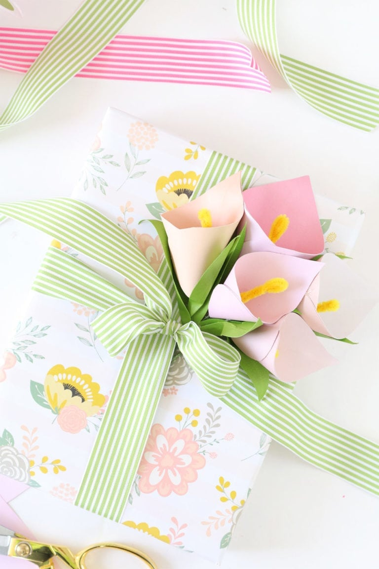 DIY Paper Calla Lilies + PayPal Mother's Day Global Gift Guide
