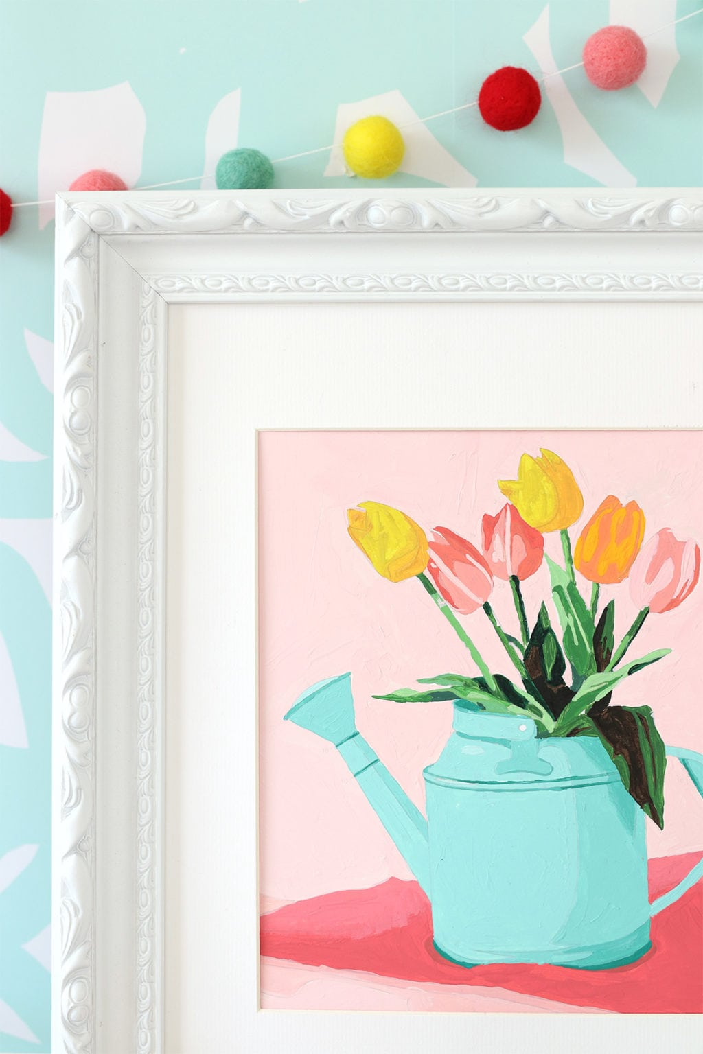 Printable Paint By Number | damask love