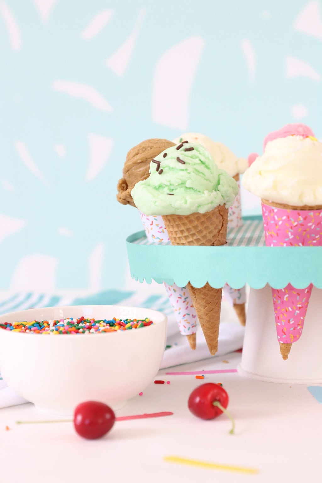 Craft Your Own Ice Cream Social Party | damask love