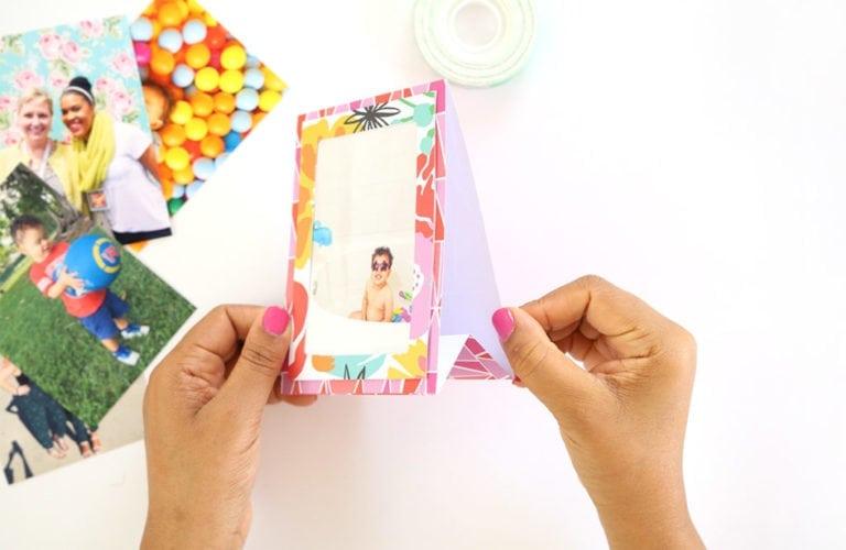 DIY Paper Easel Frames