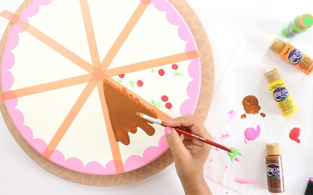 DIY Ice Cream Sundae Roulette   damask love