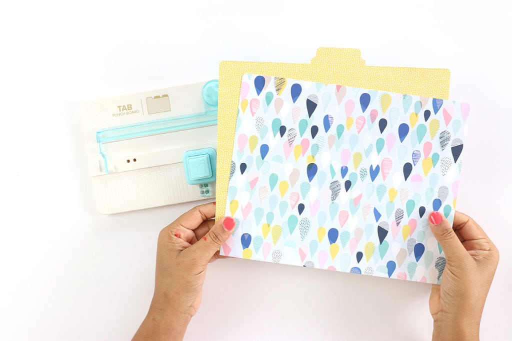 DIY Custom File Folders with DYMO MobileLabeler | damask love