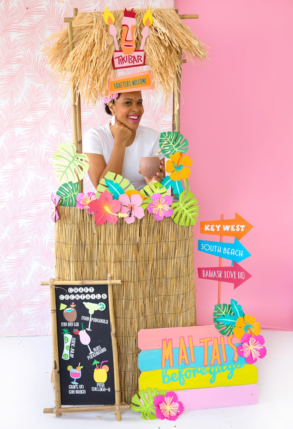 Easy DIY Tiki Hut | damask love