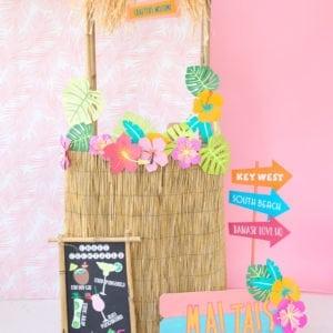 Easy DIY Tiki Hut | damask love