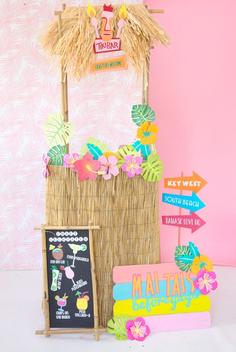 Easy DIY Tiki Bar