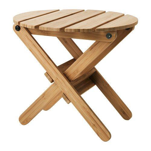 Ikea hack mini picnic table damask love for Table a roulettes ikea
