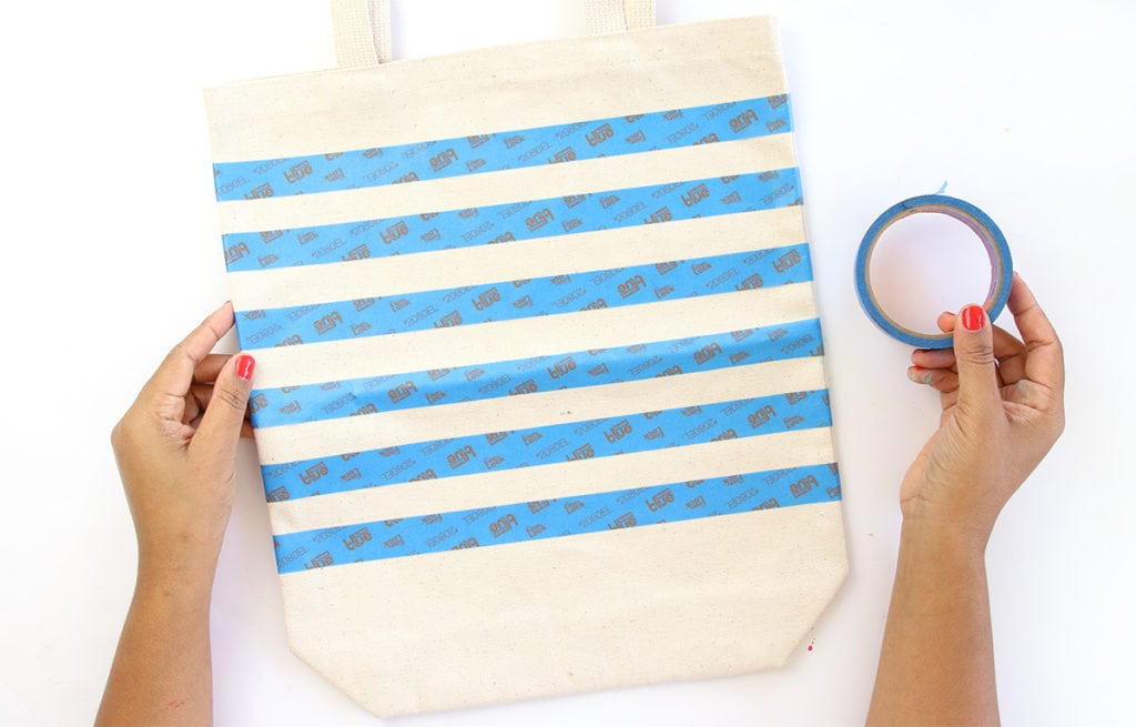 DIY Striped Nautical Tote with Cricut Explore | damask love