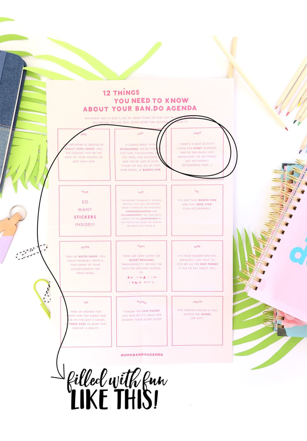 SHOP BAN.DO Planner Review | damask love