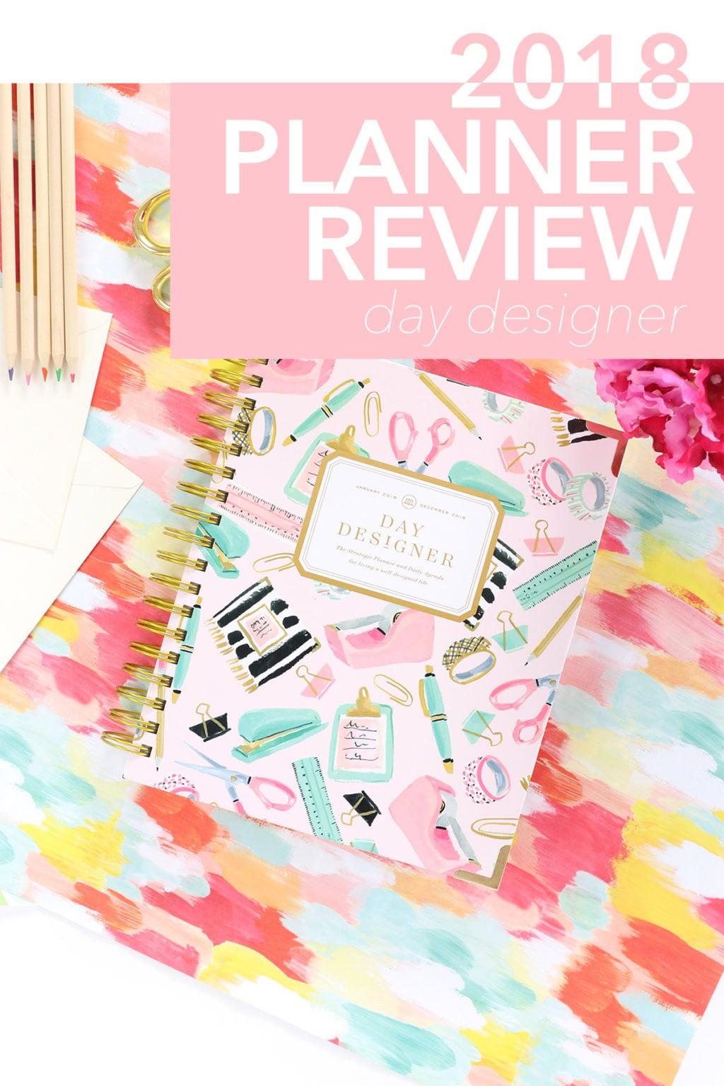 Day Designer Planner Review | damask love