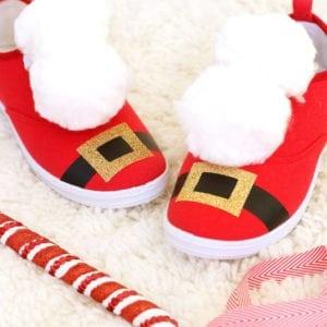 DIY Santa Sneakers | damask love