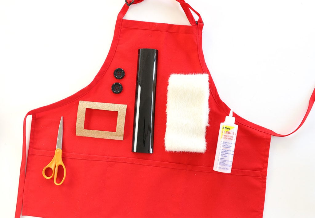 No-Sew Holiday Aprons | damask love