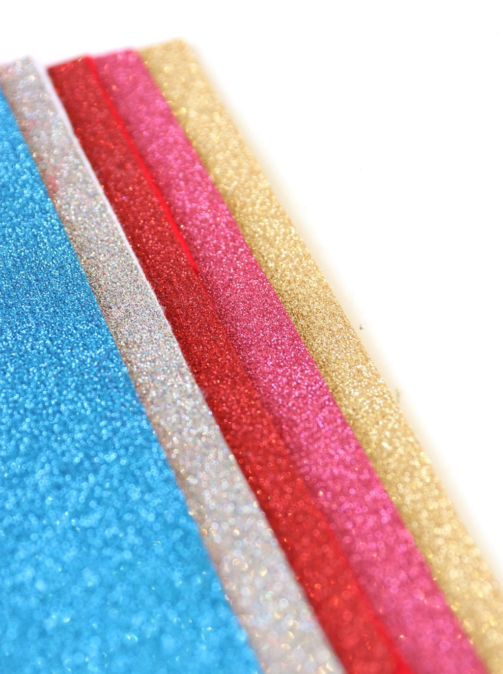 Learn how you can easily make your own glitter felt. Perfect for any felt project.