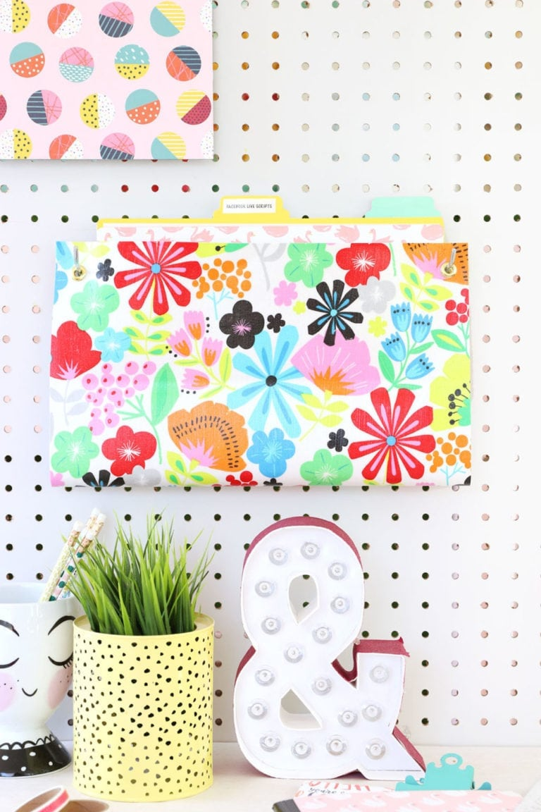 VIDEO: How to Make a Hanging Wall Folder