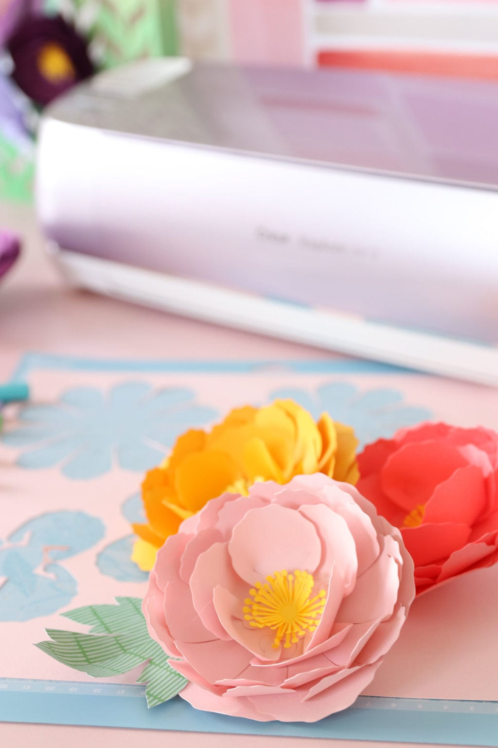 The new Cricut Wisteria bundle available exclusively at JOANN is the perfect machine for creating perfect paper flowers. I'll show you how.