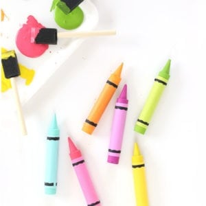 Use wooden dowels to create these adorable DIY Crayon Magnets for your office or anywhere in your home.