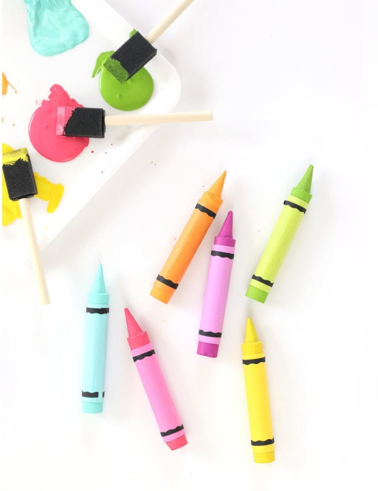 DIY Crayon Magnets