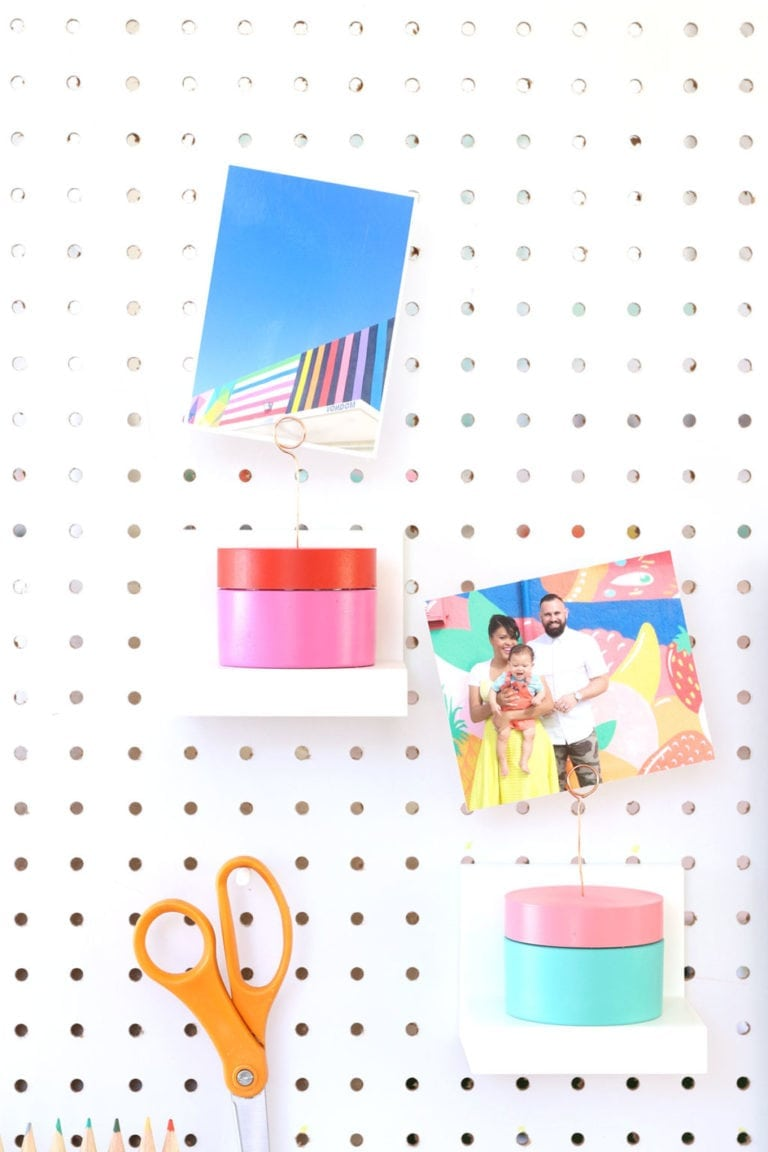 How to Make Upcycled Photo Holders
