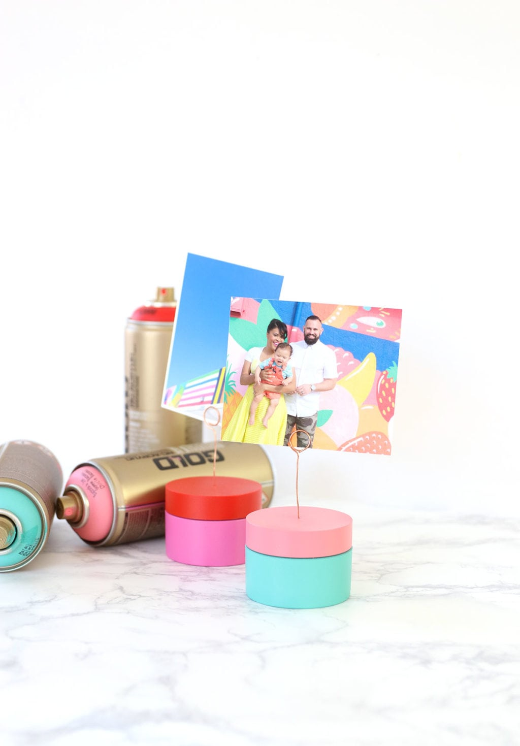 Learn how to make an upcycled photo holder using your empty beauty product packaging