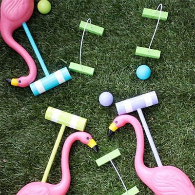 Home Depot – Flamingo Croquet