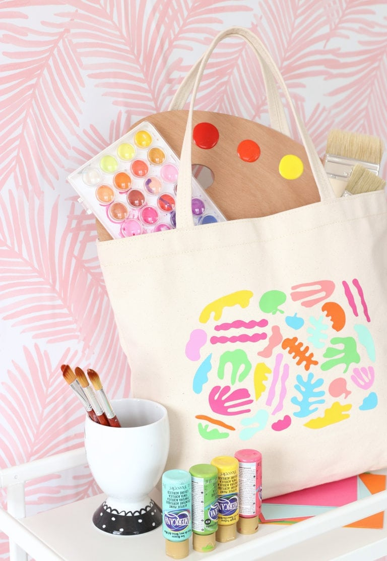 DIY Matisse Inspired Tote Bag