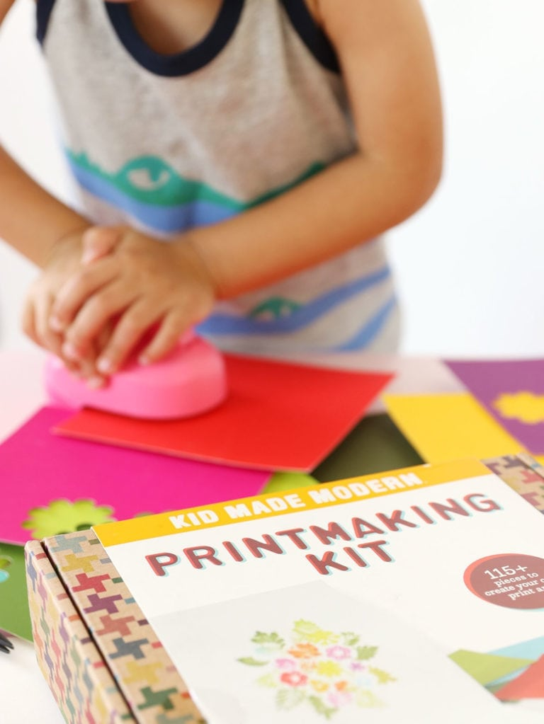Easy Printmaking for Kids
