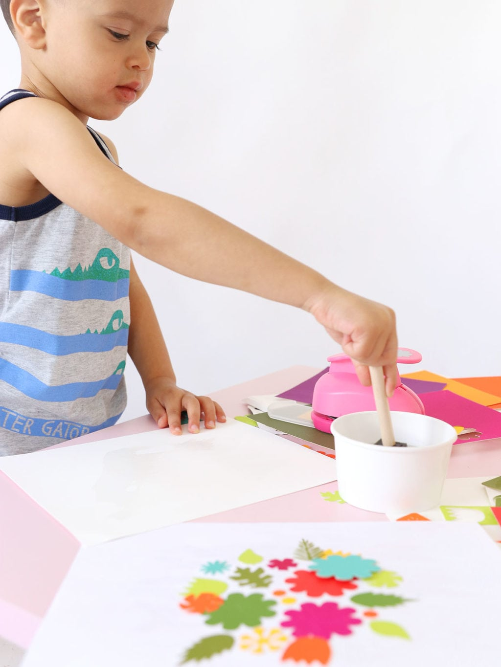 Easy Printmaking for Kids | damask love
