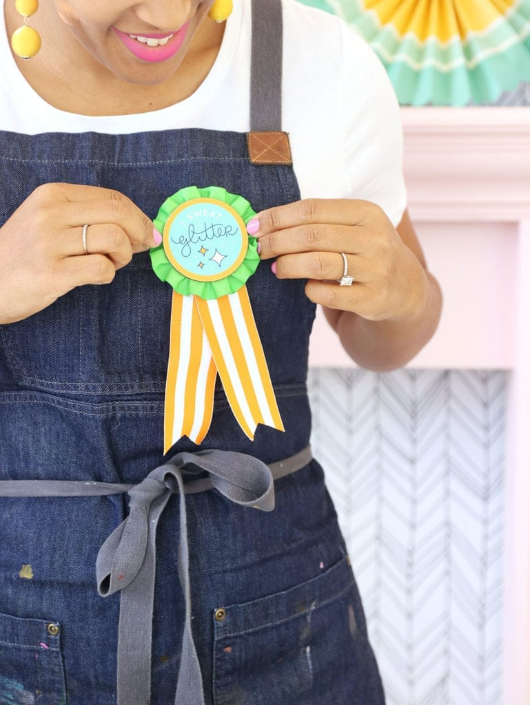 make your own nbc making it award patch damask love
