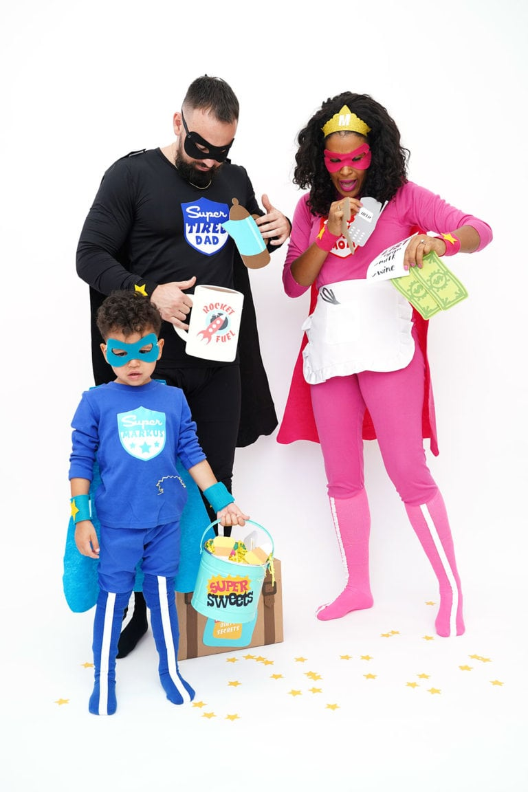 How To Make Family Superhero Costumes with Cricut