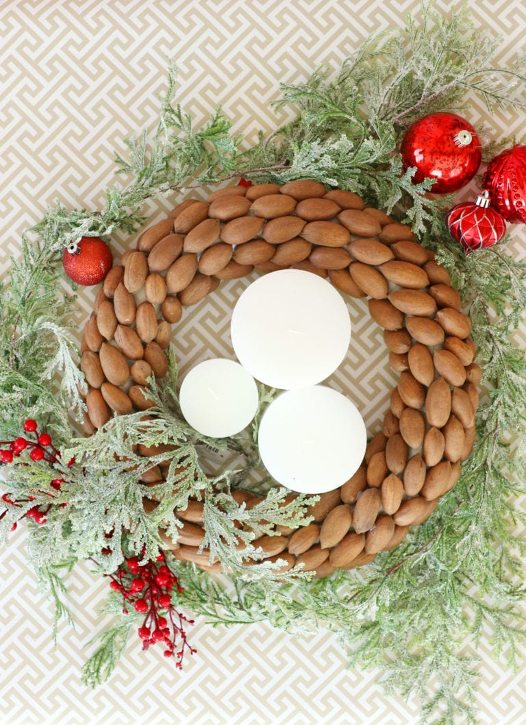 How Make a Holiday Pecan Wreath