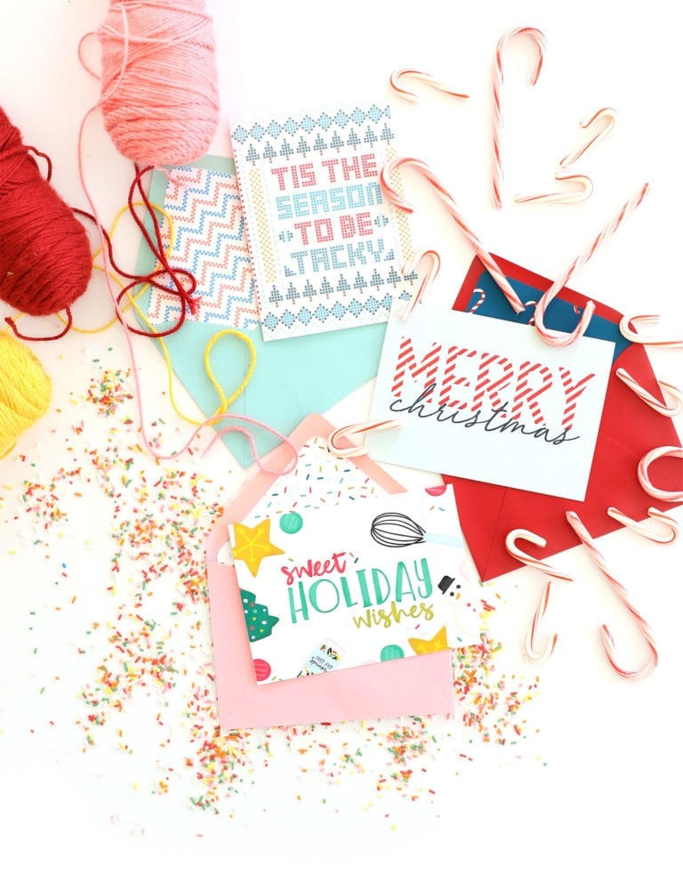 Free Printable Holiday Cards with Canon