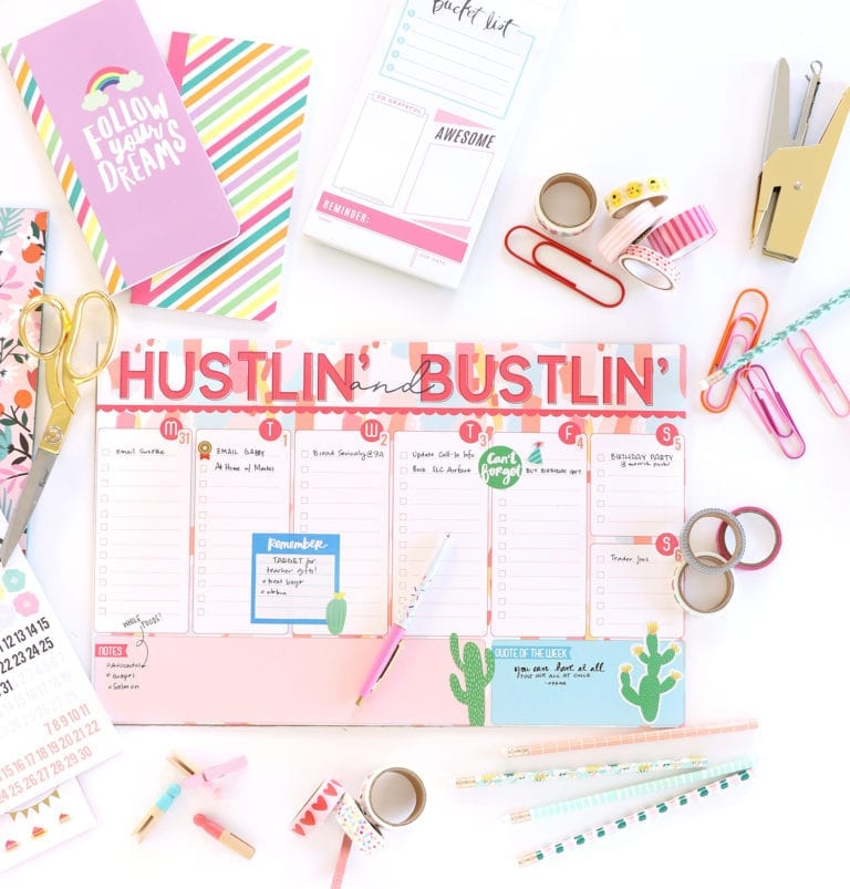 Printable Desk Pad To-Do List