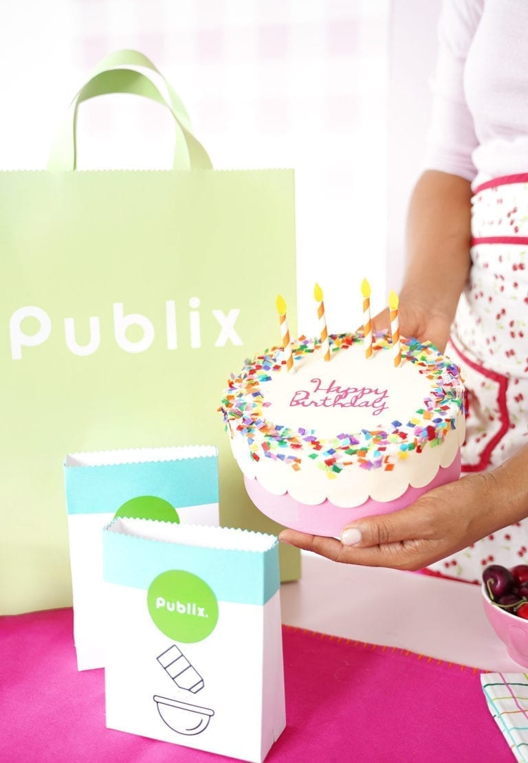 A DIY Birthday Celebration with Publix