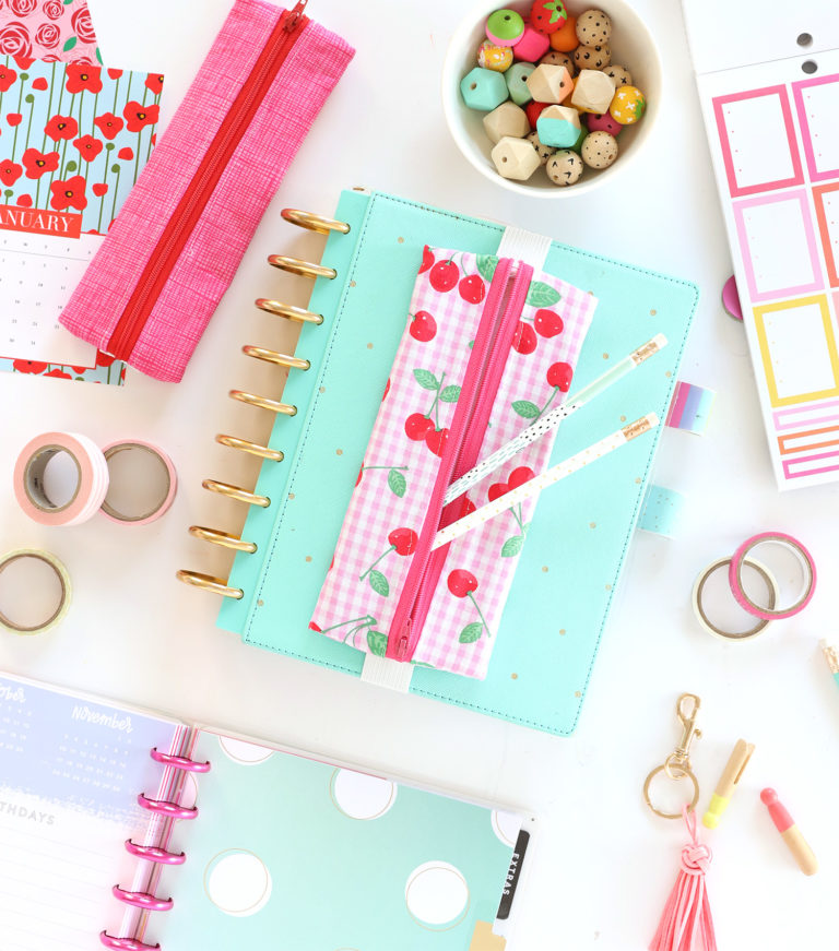 How to Make a Planner Zipper Pouch