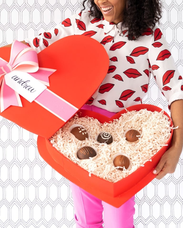 How to Make a Giant Box of Chocolates for Valentine's Day