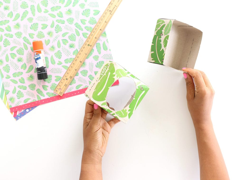 Upcycled Kleenex Box DIYs for Earth Day | damask love