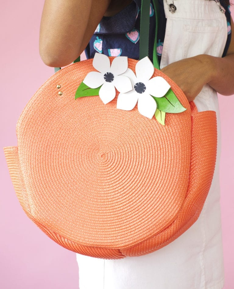 How to Make a Circle Tote Bag