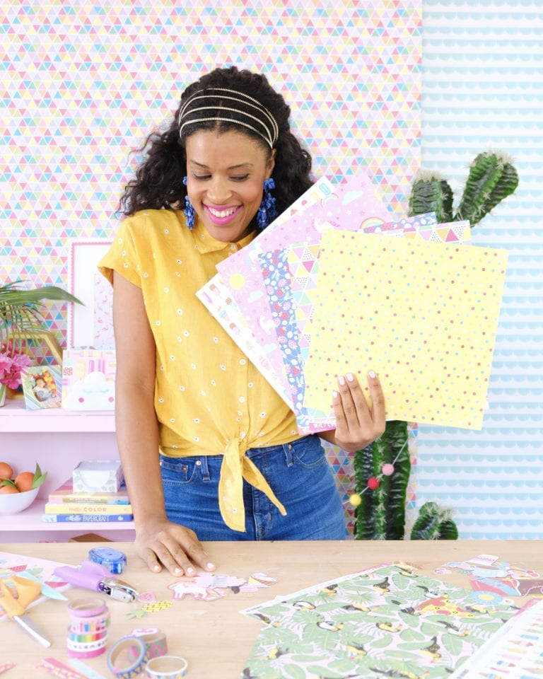 Three Ways to Use Scrapbook Paper