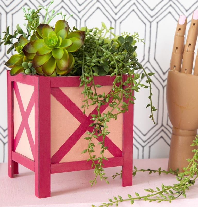 Make A Mini Planter with DecoArt